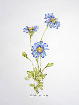 Blue Flower by Theresa Marie Johnson