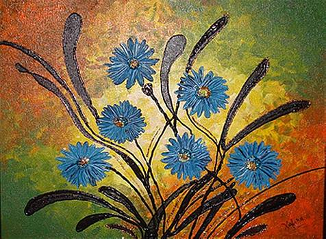 Xafira Mendonsa - Blue Flowers for True People