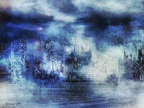 Blue Fog by Stefano Popovski