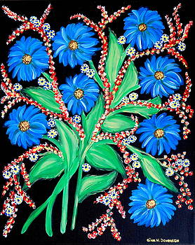 Blue for you by Gina Nicolae Johnson