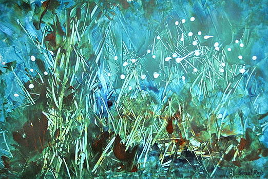 Blue Forest by Sonal Raje