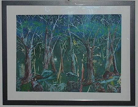 Blue Forrest by Rose Eells
