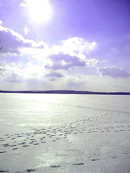 Silvie Kendall - Blue Frozen Lake
