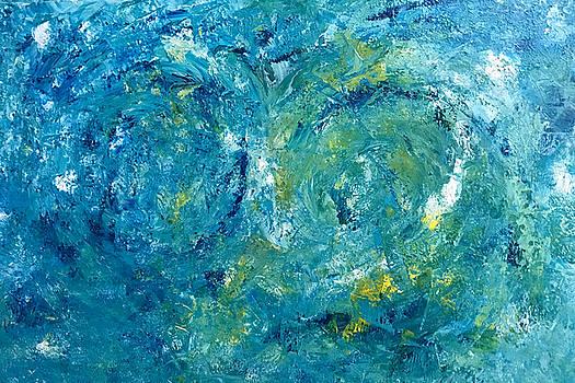 Blue Galaxy by Dorothy Maier