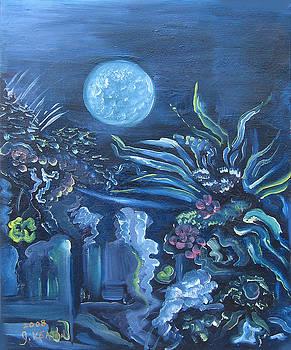 Blue Garden by John Keaton