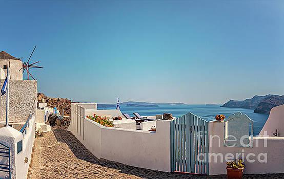 Sophie McAulay - Blue gate Santorini