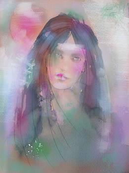 Blue Girl,dreamy-eyed...  by Naike Jahgan