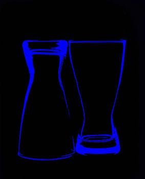 Blue Glass by Lonnie Paulson
