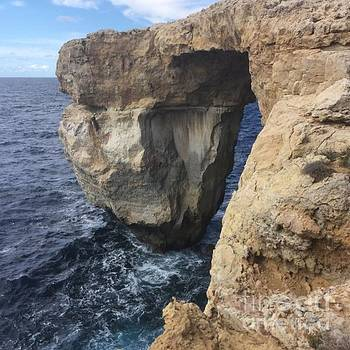 Blue Grotto by Heinz Rainer