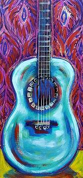 Blue Guitar by Kimberly Dawn Clayton