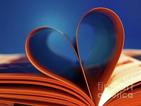 Blue Heart by Trena Mara
