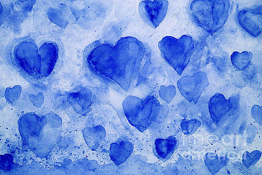 Blue Hearts by Stella Levi