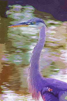 Blue Heron by Donna Bentley