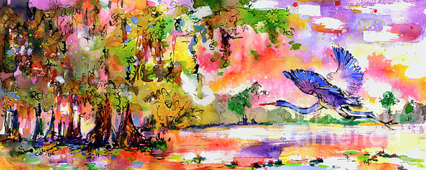 Ginette Callaway - Blue Heron Paradise