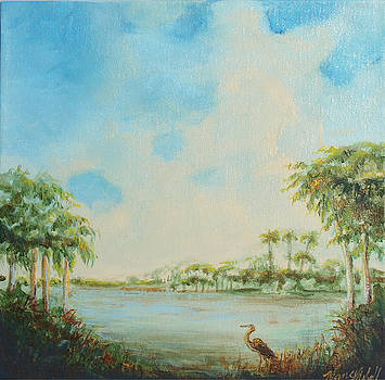 Blue Heron Pointe by Michele Hollister - for Nancy Asbell