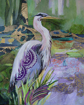 Marty Husted - Blue Heron Pose
