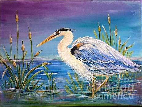 Blue Heron by Renee Hilimire