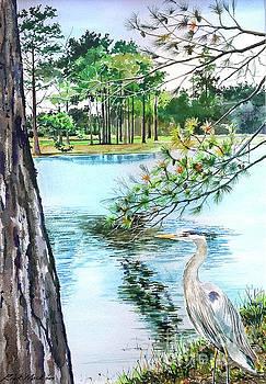 Blue Heron by Rick Mock