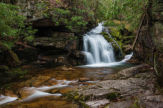 Blue Hole in Spring 2018 I by Jeff Severson