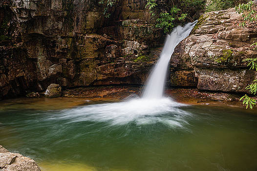 Blue Hole in Spring 2018 II by Jeff Severson