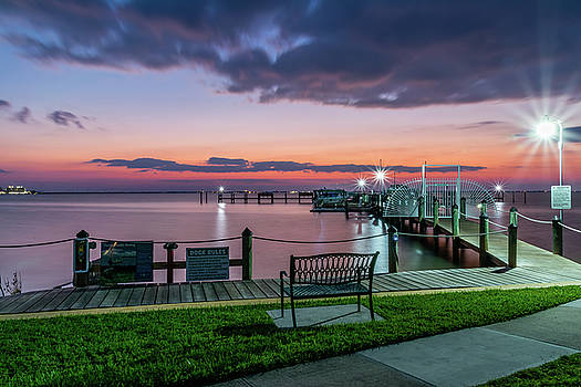 Blue Hour at Cape Shores by Robert Langdon