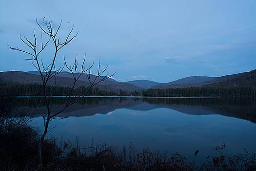 Blue Hour at Cooper Lake by Nancy De Flon