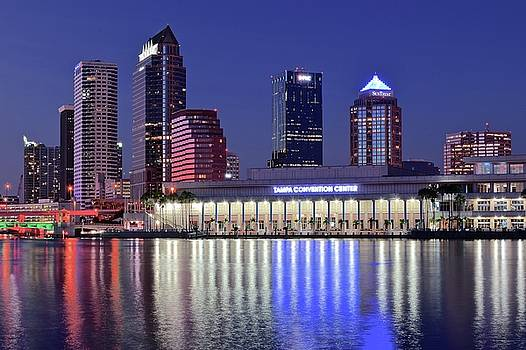Frozen in Time Fine Art Photography - Blue Hour at the Convention Center
