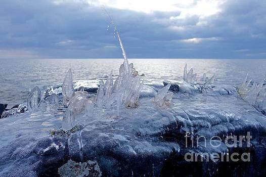 Blue Hour Ice by Sandra Updyke