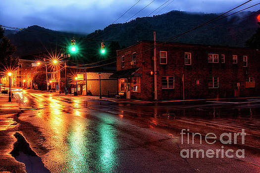 Blue Hour in Webster Springs by Thomas R Fletcher