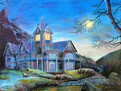 Blue House by Gicu Serban