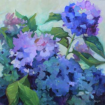 Blue Hydrangeas by Sue Dragoo Lembo