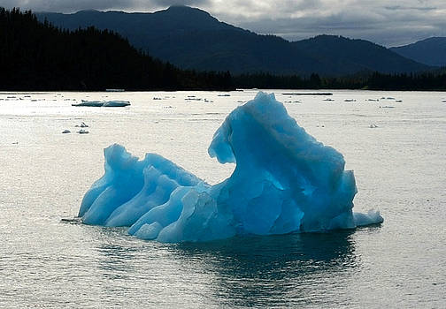 Blue Ice Berg by Wyatt Rivard