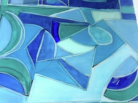 Blue Ice by Kathy Othon