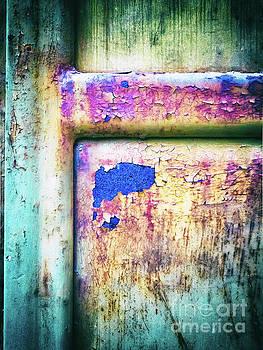 Silvia Ganora - Blue in iron door