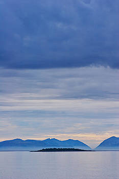Blue islands in northern Norway by Intensivelight