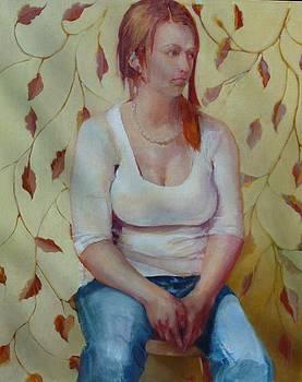 Blue Jeans Girl              copyrighted by Kathleen Hoekstra