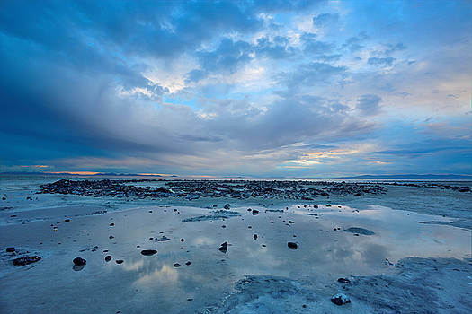 Blue Jetty Expansiveness by David Andersen