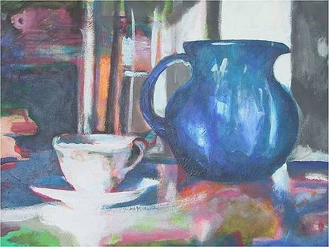 Blue Jug by Dominic Fetherston