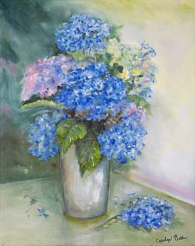 Blue Ladies by Carolyn Bell