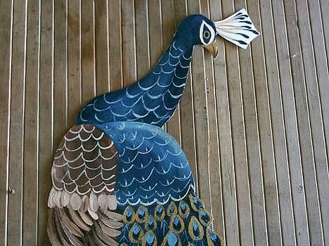 Blue Lady by Carolyn Sylvester