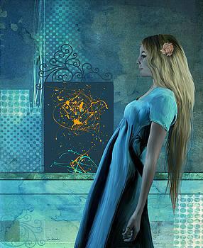 Blue Lady by Van Renselar
