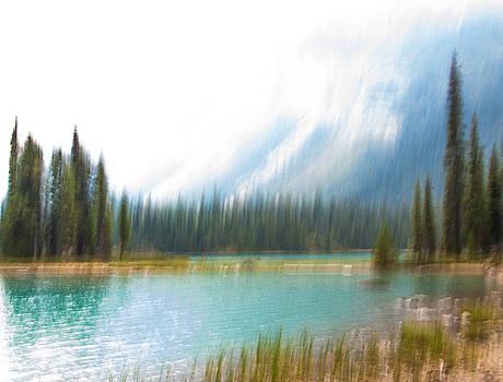 Blue Lake by Catherine Alfidi