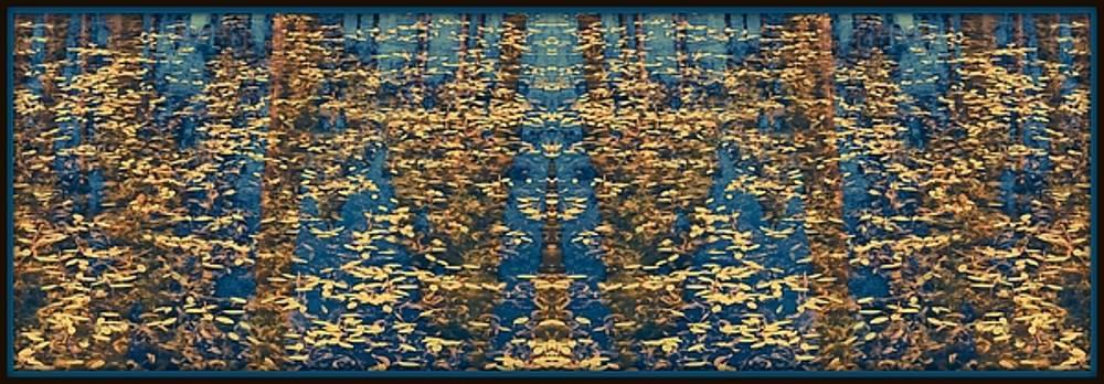 Blue Lake Reflections 2 by Sherri Meyer