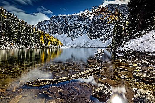 Blue Lake by Thomas Ashcraft