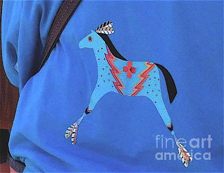 Mary Kobet - Blue Lightning Horse