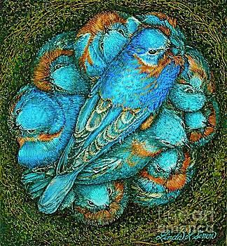 Blue by Linda Simon