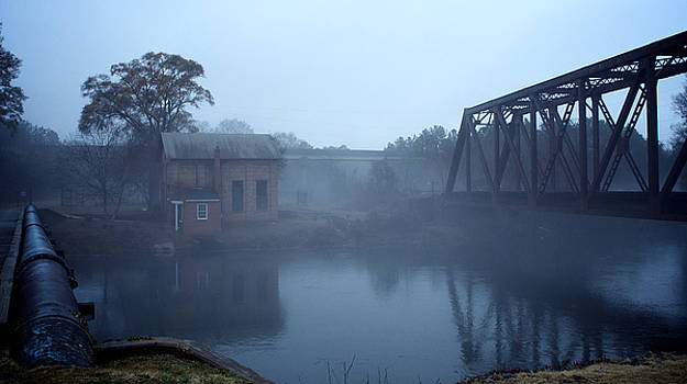 Blue Line Mist by Patrick Biestman