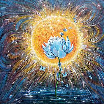 Silvia  Duran - Blue Lotus
