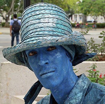 Blue Man by Ann Sullivan
