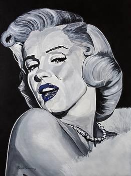 Blue Marilyn  by Brian Broadway